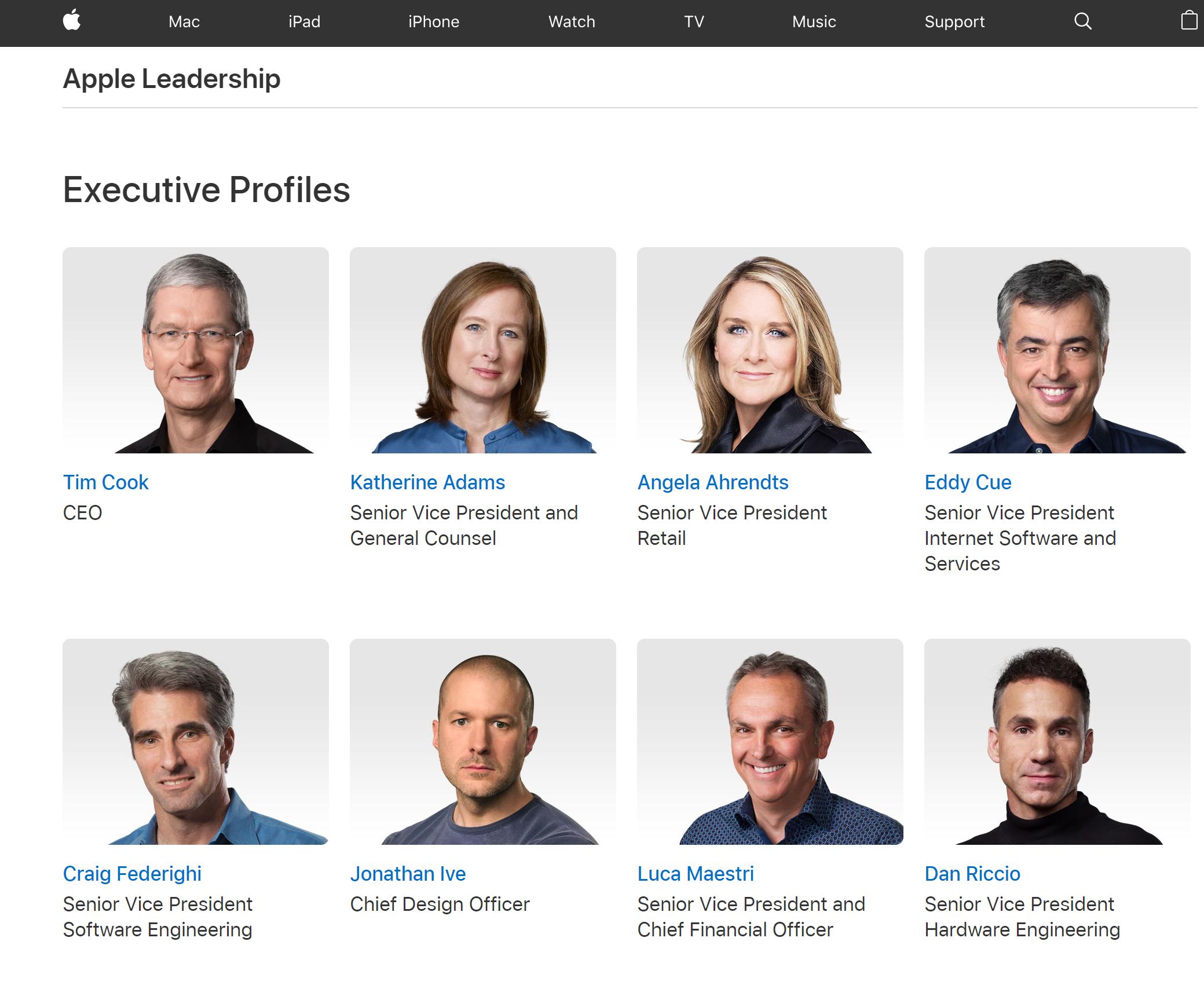 Apple people
